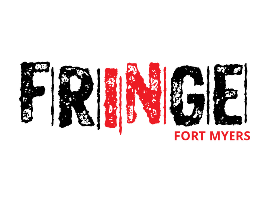 The logo for the new Fringe Fort Myers performing arts festival