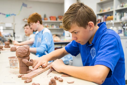 A wide variety of Upper School electives are available to students who are interested in refining their abilities and learning more about art, ceramics, photography, graphic design and much more.