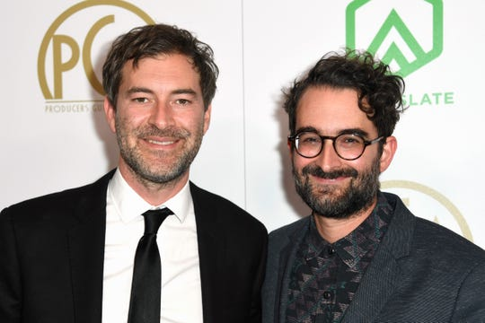 "Mark Duplass (left) and Jay Duplass are executive producers on ""The MisEducation of Bindu."""