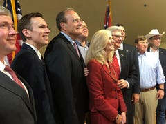 All 8 Mississippi GOP statewide nominees campaign together