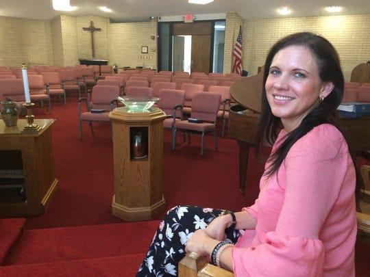 Rev. Katina Sharp is leading the merging of Powell Presbyterian Church with New Hope Presbyterian.