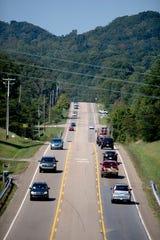 Gov. John Sevier Highway is scheduled to get extensive work.