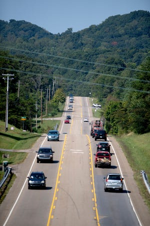 Gov. John Sevier Highway is scheduled to get extensive work.