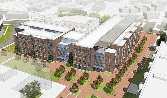 The $140 million Purdue Engineering and Polytechnic Gateway Complex is expected to be finished in 2022.