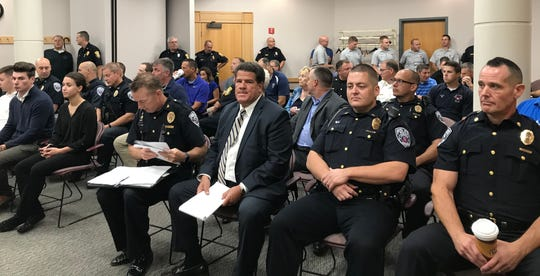 Police officers, firefighters and politicians packed Tippecanoe County Council meeting on Sept. 10, where the council approved a public safety income tax in a 6 to 1 vote. Lafayette and West Lafayette city councils meet Monday to consider the proposed tax increase. If either of those councils approve it, the tax increase will begin Jan. 1.