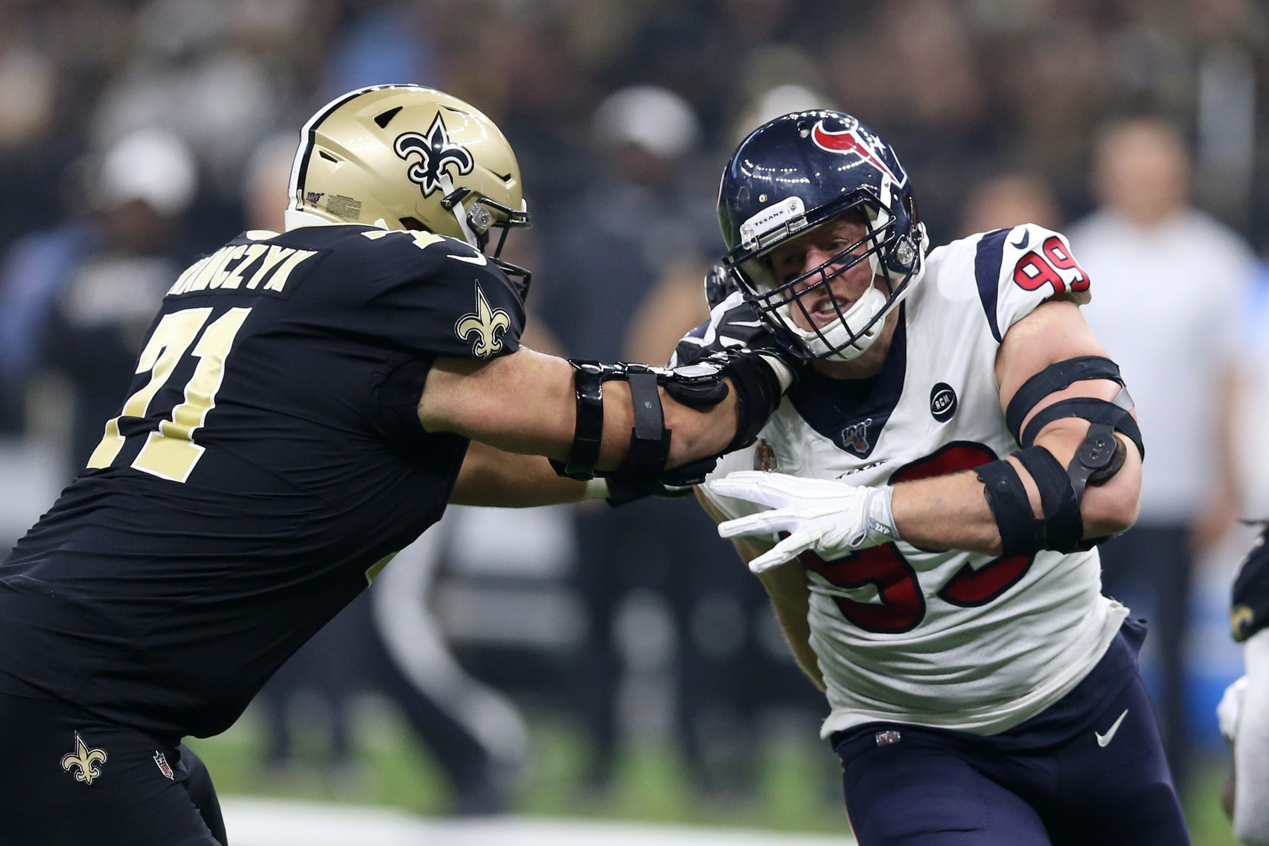 A Look At The Saints Vs Texans First Regular Season Nfl Game