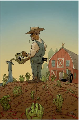 """Rob Guillory, local comic artist, had his comic """"Farmhand"""" - set in the fictional Freetown, Louisiana - picked up by AMC for a live action adaptation."""