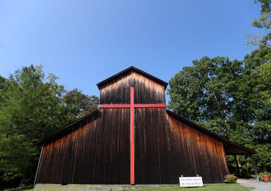 The Chapel at the Cathedral Domain Camp..