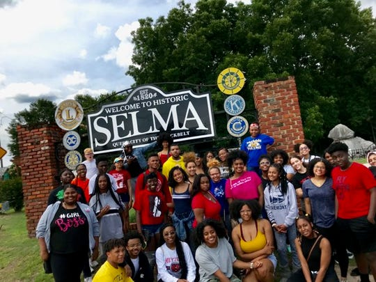Over the summer, Black Student Unions from Central, Brown and Manual high schools went on a civil rights tour that included Selma, Alabama.