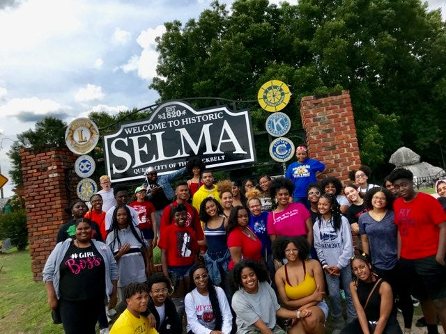 Over the summer of 2019, Black Student Unions from Central, Brown and Manual high schools in Louisville went on a civil rights tour that included Selma, Alabama.