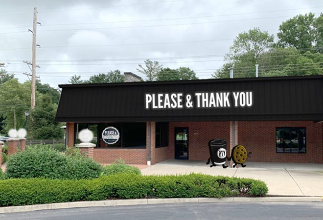 A rendering of the new Please & Thank You location coming to Prospect in November.