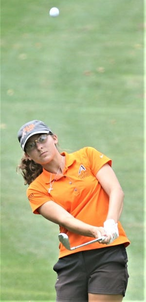 Senior Anna Watson leads a very strong Ashland High girls golf team that hopes to improve on last year's fourth-place finish in the Division I state tournament
