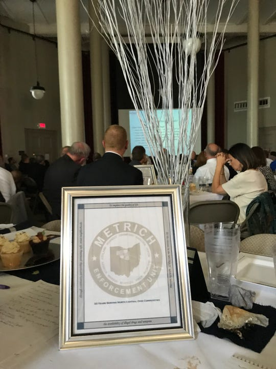 The annual METRICH luncheon was held Tuesday at the Ohio State Reformatory.
