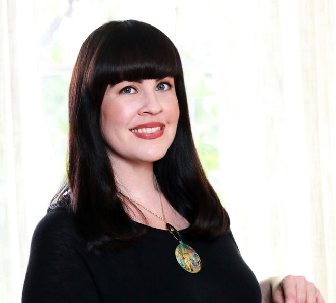 """Will My Cat Eat My Eyeballs? Big Questions from Tiny Mortals about Death"" author Caitlin Doughty."