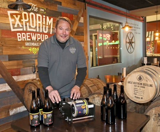 Mike Doble worked hard to ensure that his mall-based The Explorium Brewpub was warm and comfortable.