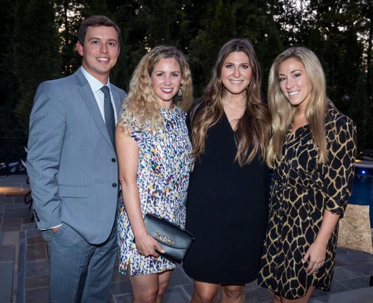 2019 Symphony Ball Late Party chairmen Nick and Connie Deidiker, left, Carly Rolfe and Terah Kimbrell at the 2019 Symphony Ball Prelude Party on Sept. 5.