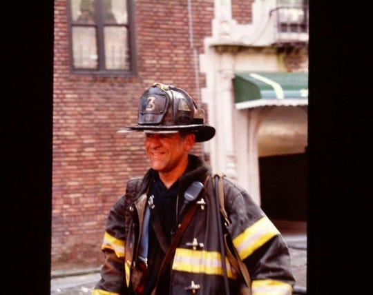 Garrett Lindgren after a job before he retired.