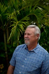 Dale Mullin, director of Wounded Warriors of Collier County, poses for a portrait at David Lawrence Center in Naples on Thursday, Sept. 5, 2019. Mullin, a Vietnam veteran, has been working on veterans issues around Collier County for years, and is currently focusing on helping homeless veterans find housing.