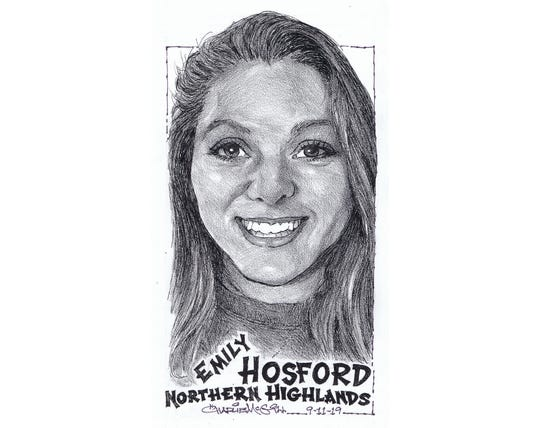 Emily Hosford, Northern Highlands volleyball