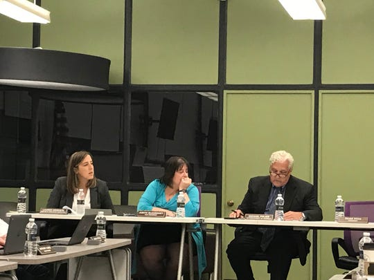 Michael Polizzi, Judith McSweeney and Lauren Odoksta are all part of the New Milford School District, which is postponing a referendum for school projects until December 2020.
