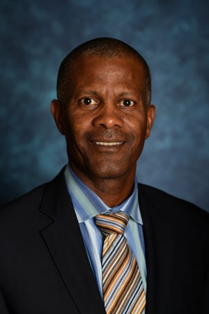NMSU professor Rolston St. Hilaire, head of the Department of Plant and Environmental Sciences and Interim Head of Extension and Plant Sciences in the College of Agricultural, Consumer and Environmental Sciences was inducted into the American Society for Horticulture Science's 2019 class of fellows and serves as the ASHS International Division Vice President.