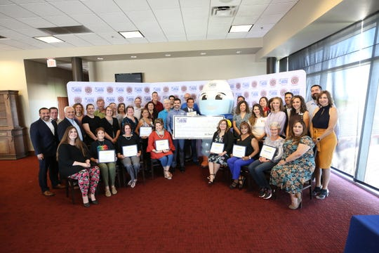 El Paso Electric's (EPE) Community Partner Program, part of the Company's corporate citizenship initiative, awarded $65,550 to 18 non-for-profit organizations in southern New Mexico at a reception held at New Mexico State University in Las Cruces.