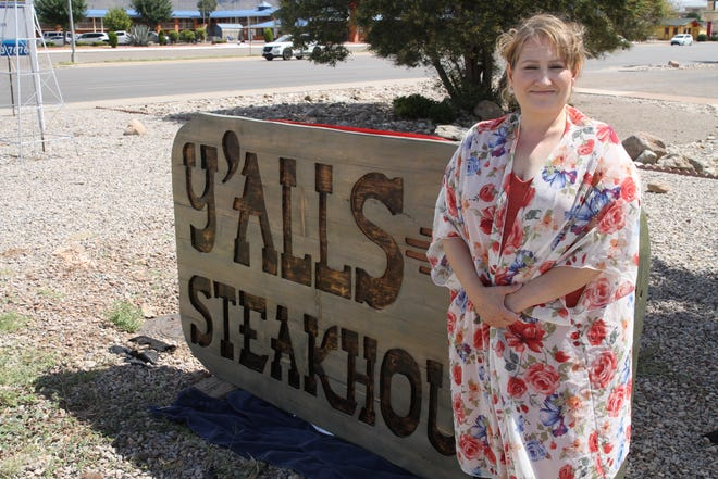 Y'alls Steakhouse owner Annette Rankin appeared before Alamogordo City Commission Sept. 10, 2019 for a liquor license to sell beer and wine at her restaurant.