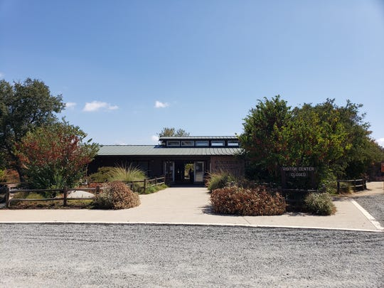 The visitor center at the Santa Rosa Plateau Ecological Reserve was saved during the Tenaja fire.