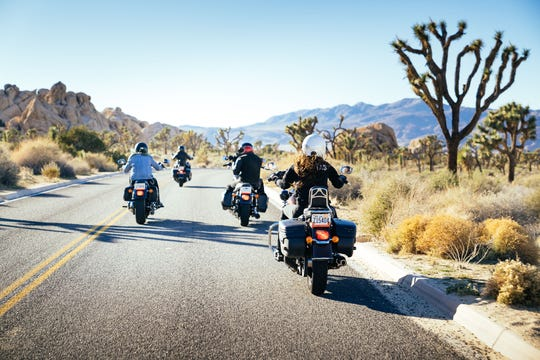 Join Club EagleRider as the group explores Joshua Tree National Park on Oct. 5, 2019.