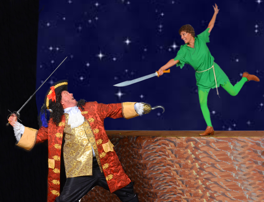 The classic tale of Peter Pan shows at the Palm Canyon Theatre Sept. 26-29, 2019