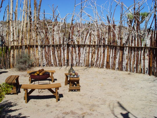 Within the boma is a safe space for entertaining at night or for safe sleeping out under the stars.