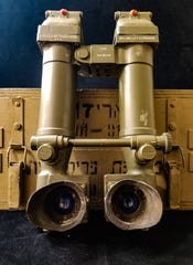"These trench periscopes, also known as ""rabbit ears"", served as the eyes of armored vehicles in the Israeli army."