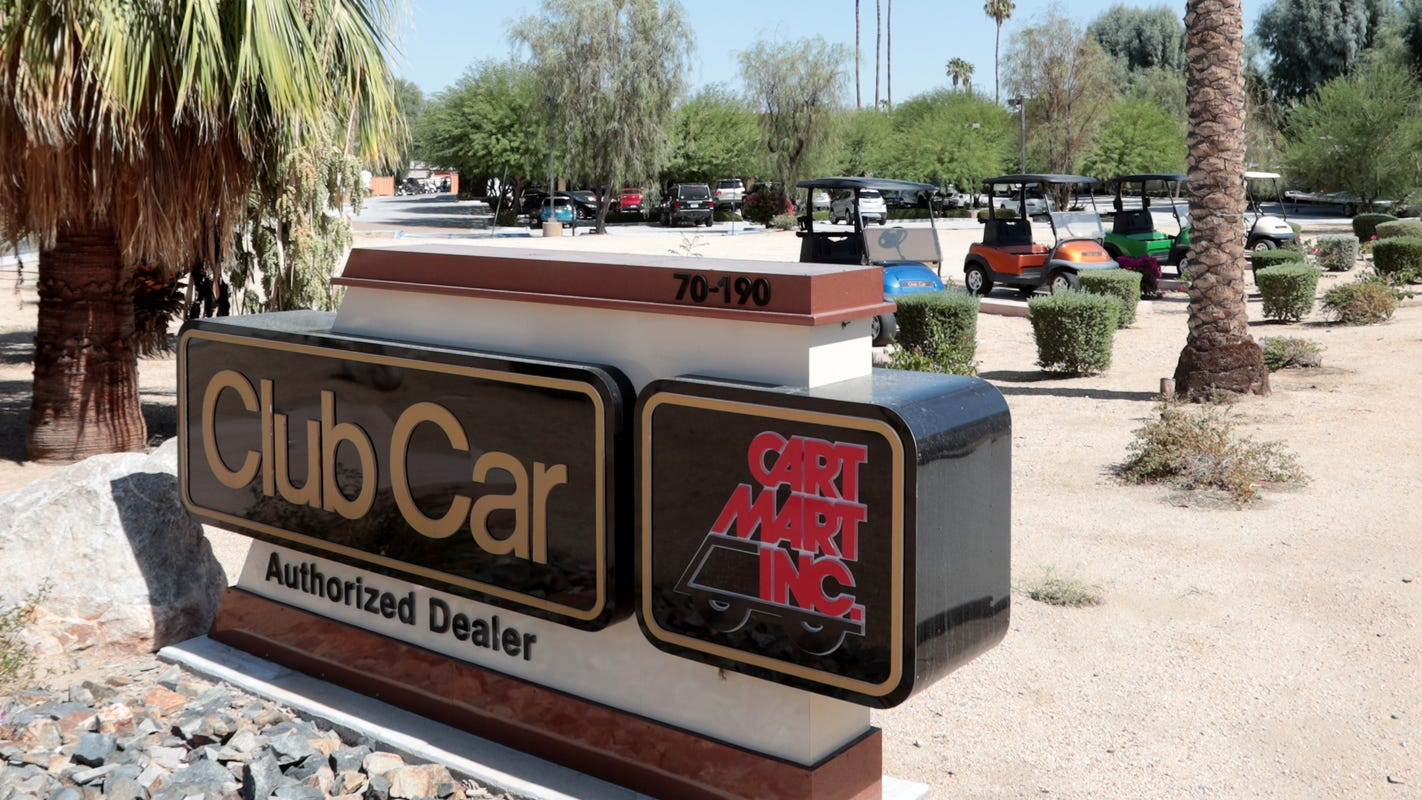 Golf car dealer Cart Mart opening in long-vacant Jensen's spot in La Quinta. Read what else is coming