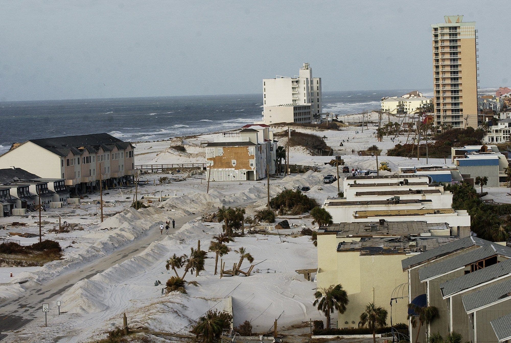 Hurricane Sally hit exactly 16 years after Ivan, even making landfall at the same spot