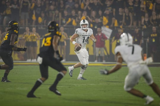 Brian Lewerke and Michigan State lost to Arizona State in Tempe last season. They get to host the Sun Devils this year.