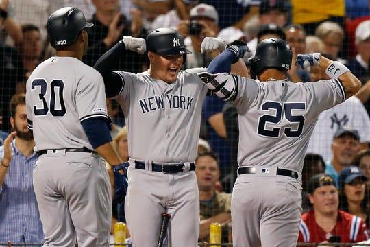 Yankees celebran haberles complicado la existencia a Medias Rojas.