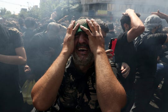 Las celebraciones musulmanas en Ashoura, Irak, se tornaron trágicas.