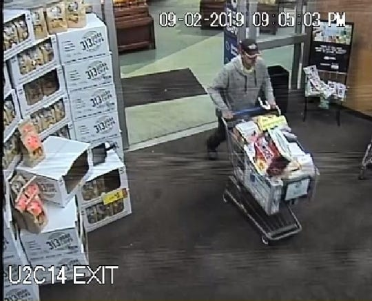 Clay Township Police Department is looking to question this person involving a shoplifting incident that occurred at the Clay Township Kroger on Sept. 2, 2019.