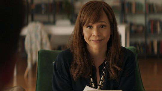"Rosie Perez in a scene from ""Inside the Rain."""