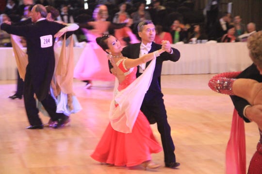 Clement Ho and Tina Intact will give waltz demonstrations during the York USA Dance event on Sunday.