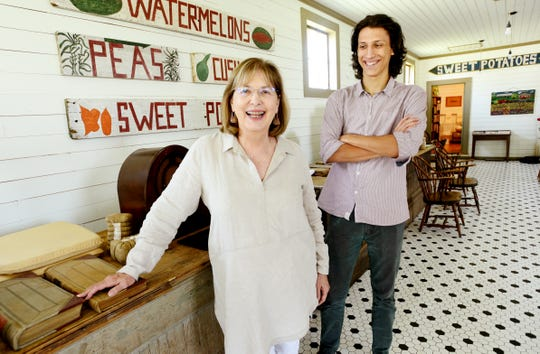 Jane Watts,  Executive Director of the Ross Lynn Charitable Foundation and Ryan Botts, program and events coordinator will display the photographs of Ross Lynn during the Heritage and Harvest Tour.