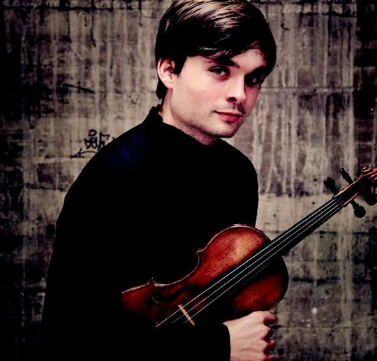 """Violinist Francisco Fullana will perform with the Shreveport Symphony Orchestra on Nov. 16 in """"Mozart and Schubert."""""""