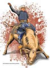 The Sioux Falls Rodeo takes place in Sioux Falls on Friday and Saturday at the Denny Sanford Premier Center.