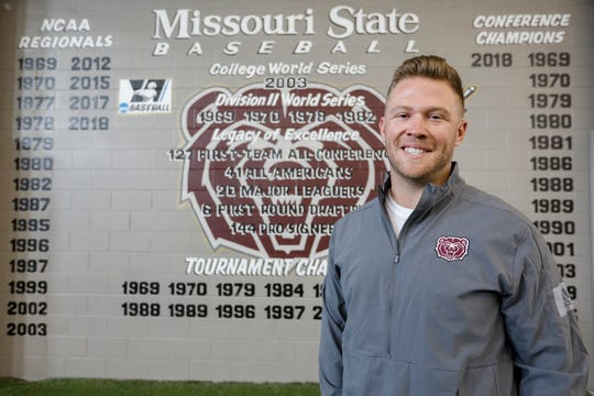 Craig Massoni, a volunteer assistant baseball coach at Missouri State University, is battling cancer.