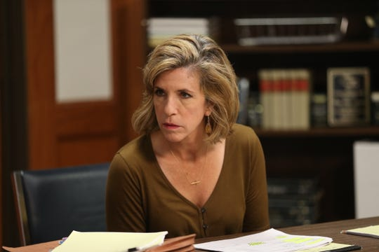 "Kelly Siegler is shown in a ""Cold Justice"" publicity photograph distributed by Oxygen."