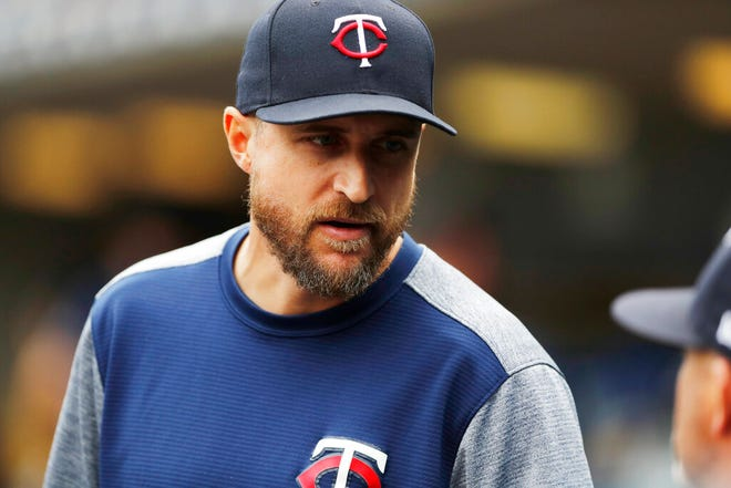 After guiding the Twins to a 101-61 record in his first season at the helm, Twins manager Rocco Baldelli was named one of three finalists for the Manager of the Year Award.
