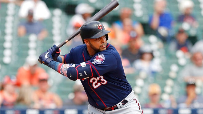 Designated hitter Nelson Cruz is one of five Twins with at least 30 home runs. He leads the team with 41.