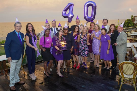SafeSpace's Board of Directors are ready to celebrate the organization's 40th anniversary of helping victims of domestic violence become survivors on Oct. 19, 2019 at Treasure Coast Lexus in Fort Pierce.