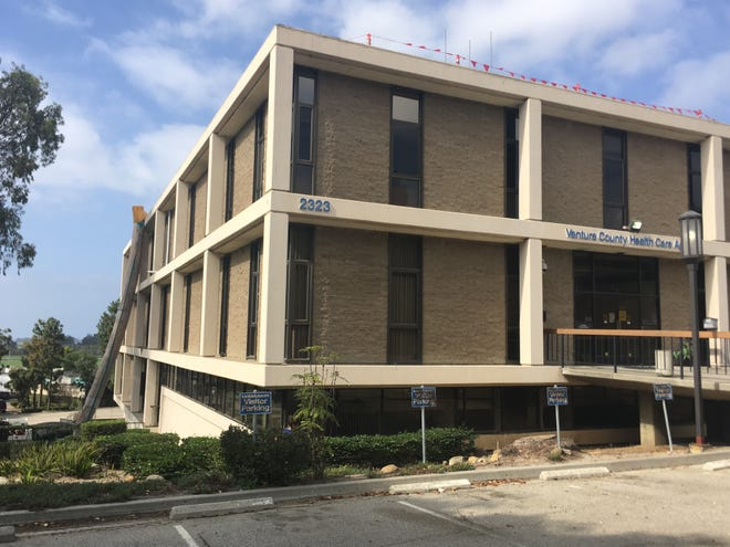 A building on Knoll Drive in Ventura will house a 55-bed homeless shelter, which is set to open in January 2020.