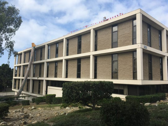 The first floor of this building in Ventura will become a permanent, year-round homeless shelter that is expected to open in January 2020. The County of Ventura owns the building.